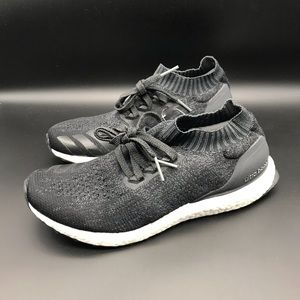 New Adidas Ultra Boost Mens Uncaged Carbon Black